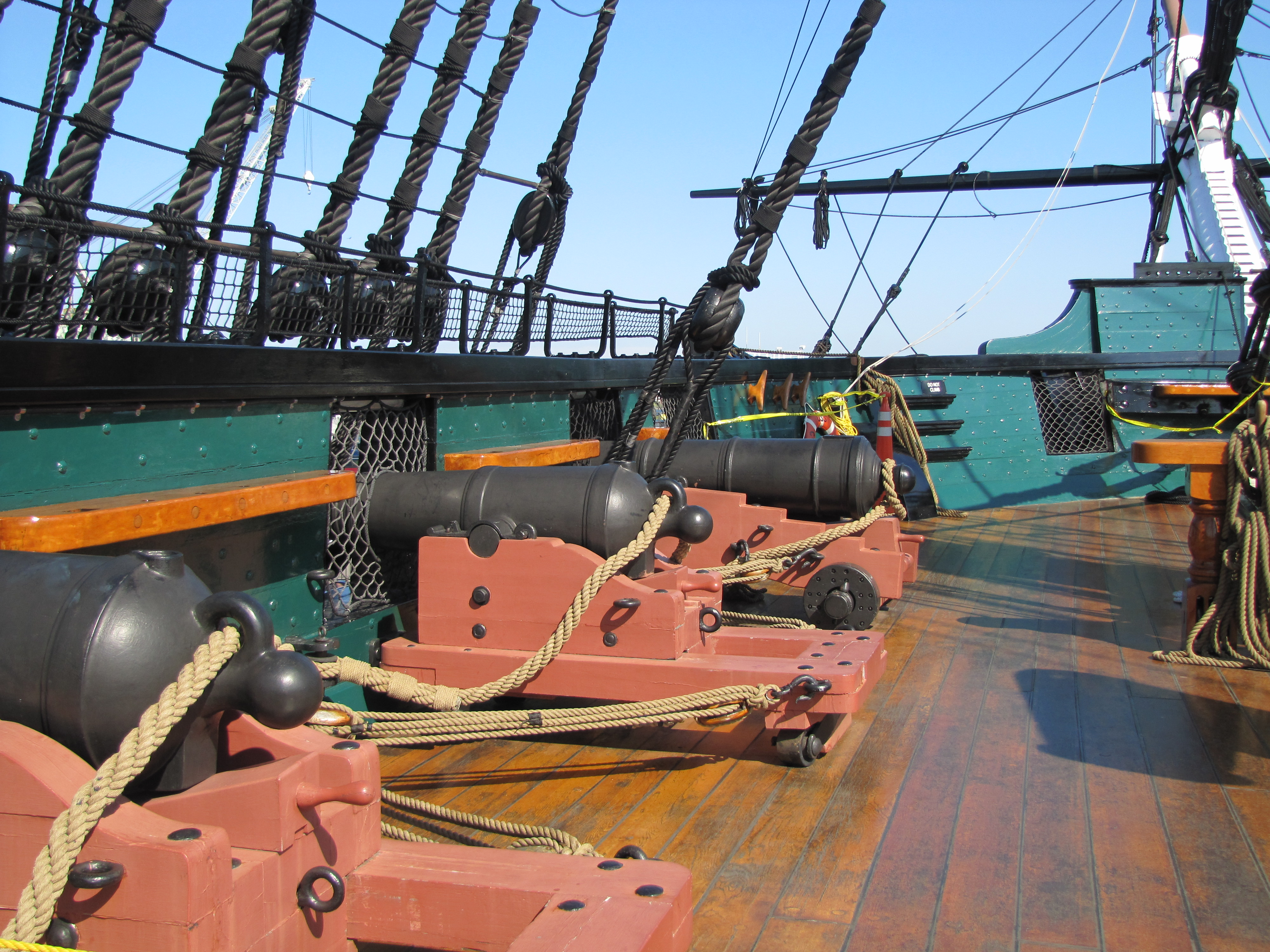 The USS Constitution | Images and Reflections Uss Constitution Pictures Of Deck